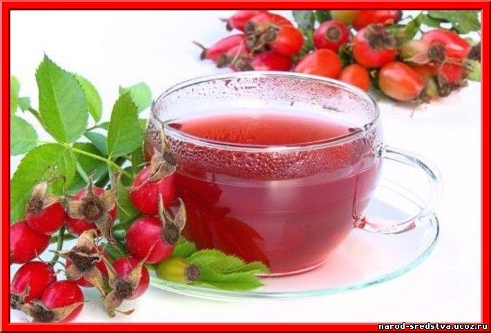 Чай с шиповником и боярышником польза