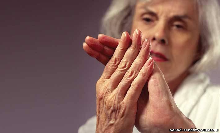 Народные средства лечения суставов рук и ног